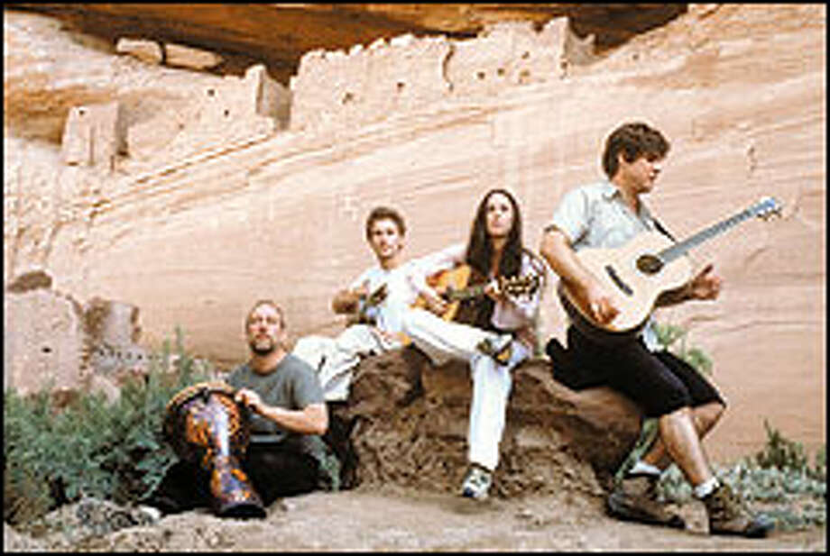 "Alanis Morissette plays at Arizona's scenic Canyon de Chelly for tonight's premiere episode of ""Music in High Places"" on MTV. The show, which is refreshingly good for MTV fare, features artists playing at sites around the world."