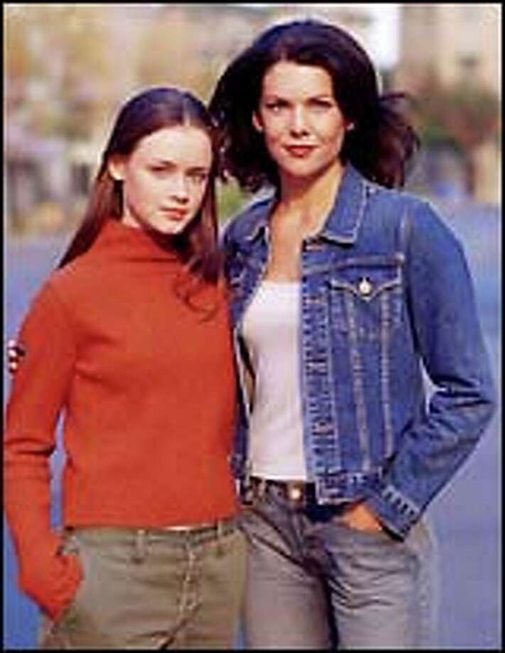 """""""Gilmore Girls"""" Lorelai (Lauren Graham), right, and Rory (Alexis Bledel) bring spirit and wit to their show."""