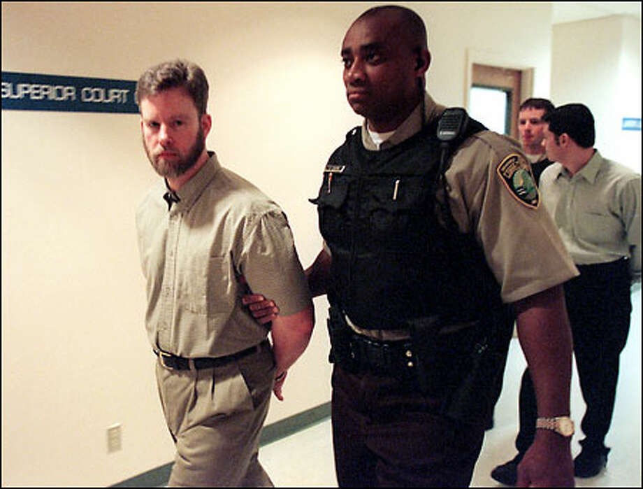 Gatekeepers sect founder Chris Turgeon and Blaine Applin, a follower, are charged with murder in the death of Dan Jess, an ex-member. Photo: Paul Joseph Brown/Seattle Post-Intelligencer