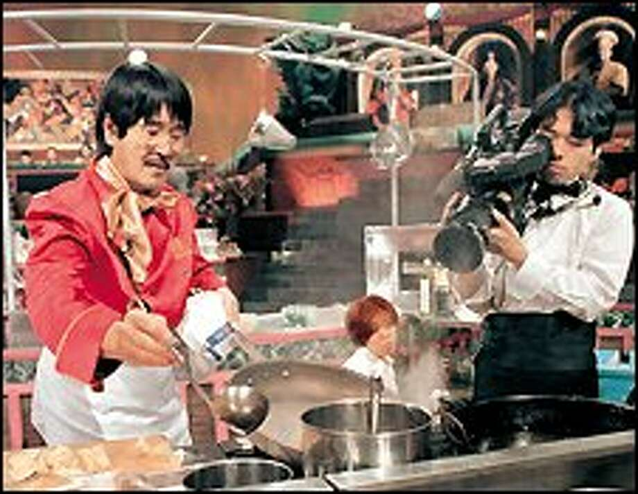 """""""Iron Chef"""" on The Food Network. / AP"""
