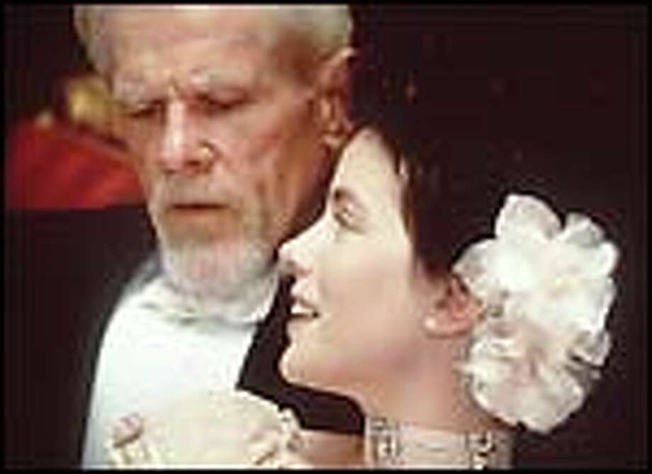 Father (Nick Nolte) gets all of Maggie's (Kate Beckinsale) attention.