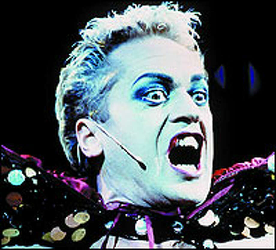 """Another successful revival is gender- bending """"The Rocky Horror Show"""" with Tom Hewitt as the lead character of Frank 'n' Furter."""