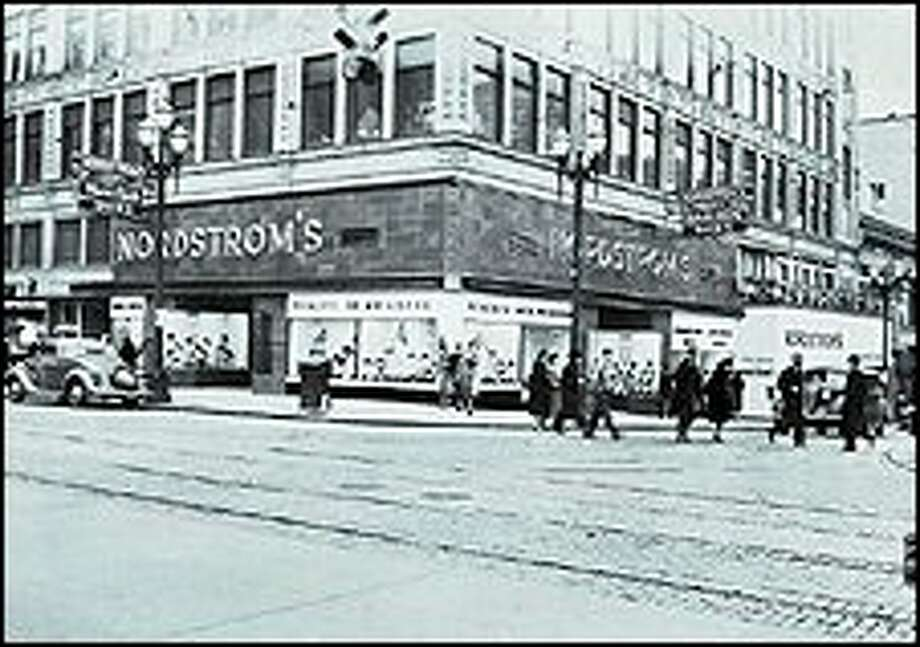 The downtown store in 1938, the same year the company incorporated.