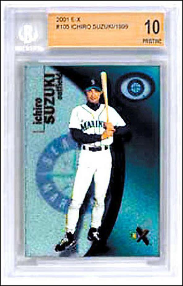 Ichiro Rookie Card Giveaway Seattlepicom