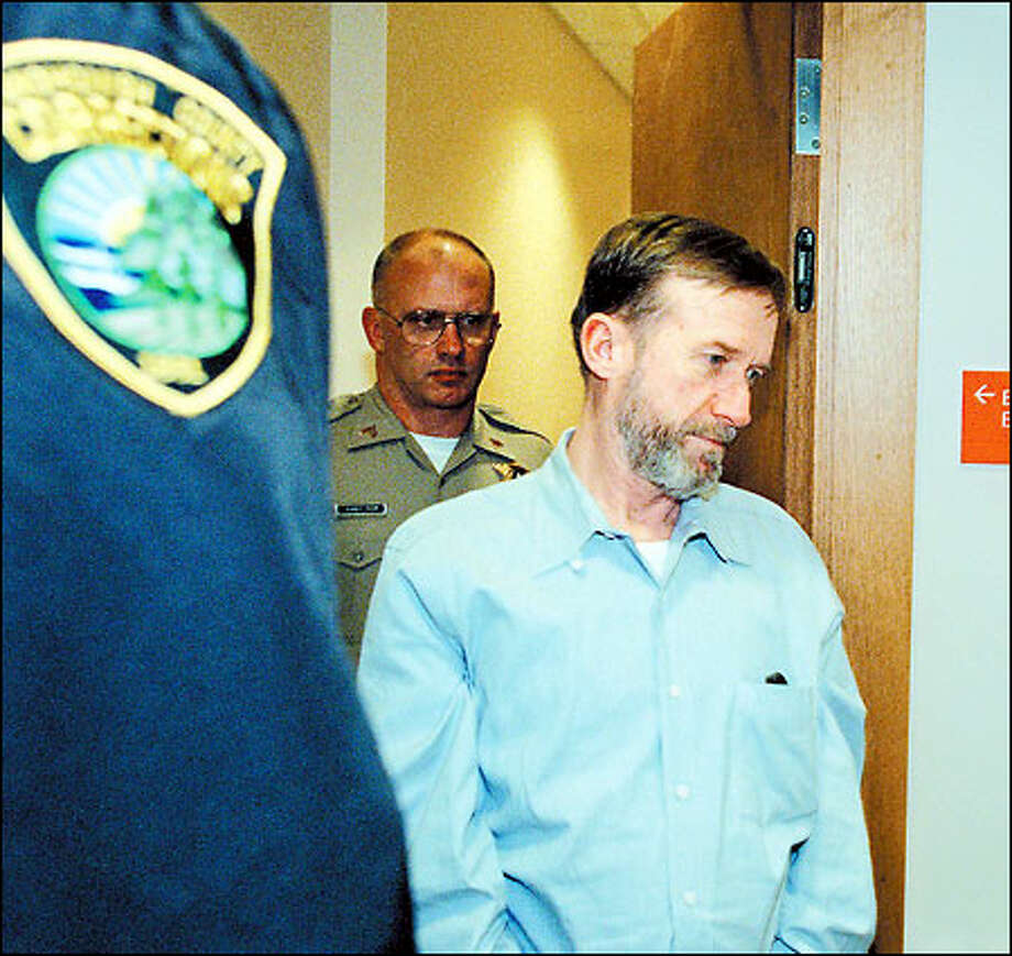 If all goes as planned, James Elledge will get his wish and die by lethal injection. Elledge has been sentenced to death for the murder of Eloise Fitzner. Photo: Dan DeLong/Seattle Post-Intelligencer