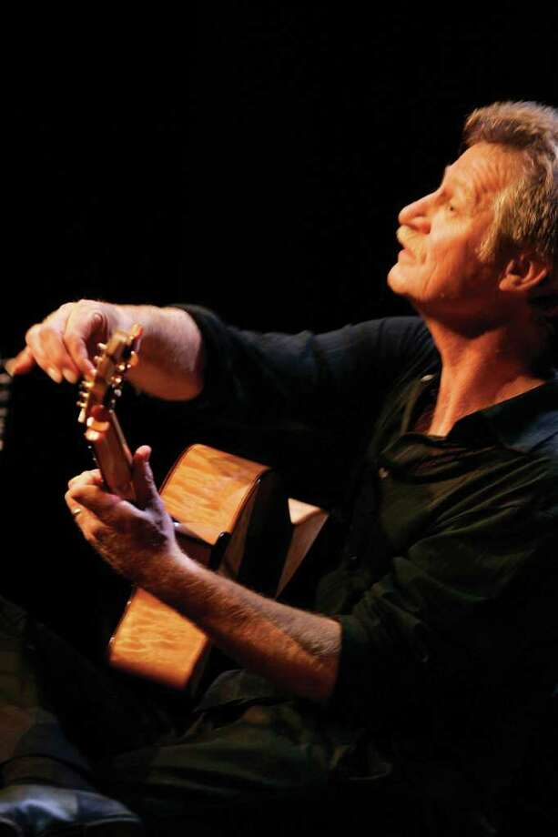 "Finger-picking master Alex de Grassi will perform his original score for the Japanese director Yasujiro Ozu's 1934 classic film, ""A Story of Floating Weeds"" on Sunday, March 20 at Fairfield University's Quick Center for the Arts. Photo: Contributed Photo / Connecticut Post Contributed"
