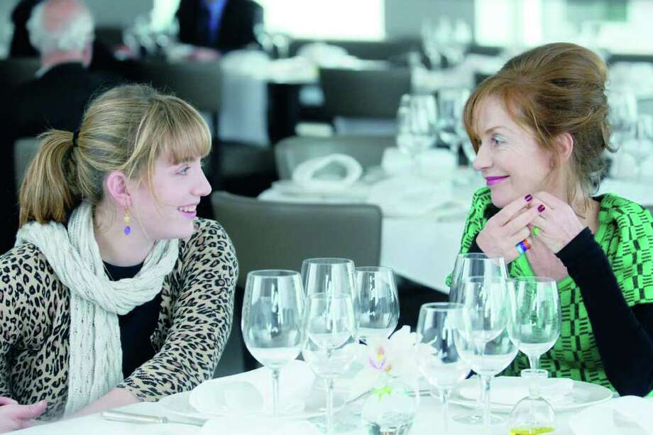 "Lolita Chammah and her mother, Isabelle Huppert star in director Marc Fitoussis's ""Copacabana."" The film will be screened at Focus on French Cinema on Friday, March 18 at Purchase College, N.Y. Photo: Contributed Photo / Connecticut Post Contributed"