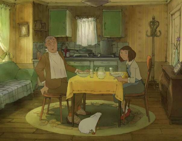 "Jean-Claude Donda and Edith Rankin lend their voices to Sylvain Chomet's animated film, ""L'illusionniste"" (The Illusionnist). The film will be screened at Focus on French Cinema on Sunday, March 20 at Purchase College, N.Y. Photo: Contributed Photo / Connecticut Post Contributed"