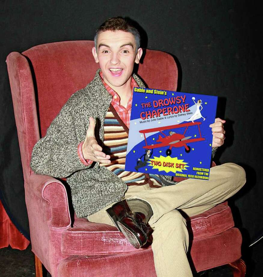 "High School senior Matt Maguire plays the ""man in the chair:"" a devoted musical theater fan who's dreary world is drastically changed by the simple act of putting on an old LP. Photo: Contributed Photo / New Canaan News"