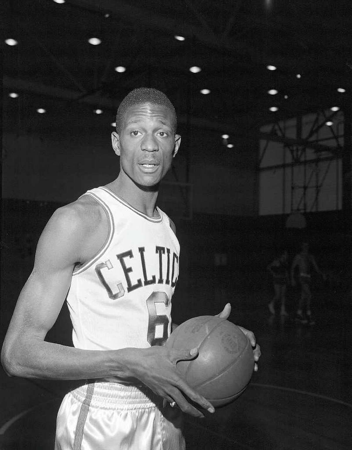 Bill Russell , who played his entire career with the Boston Celtics, averaged a double-double for 12 of his 13 seasons. His career averages were 15.1 points and 22.5 rebounds. His best shooting season was 1961-62, when he averaged 18.9 points and 23.6 rebounds. In 1963-64, when he averaged 15.0 points and 24.7 rebounds, his best on the boards.
