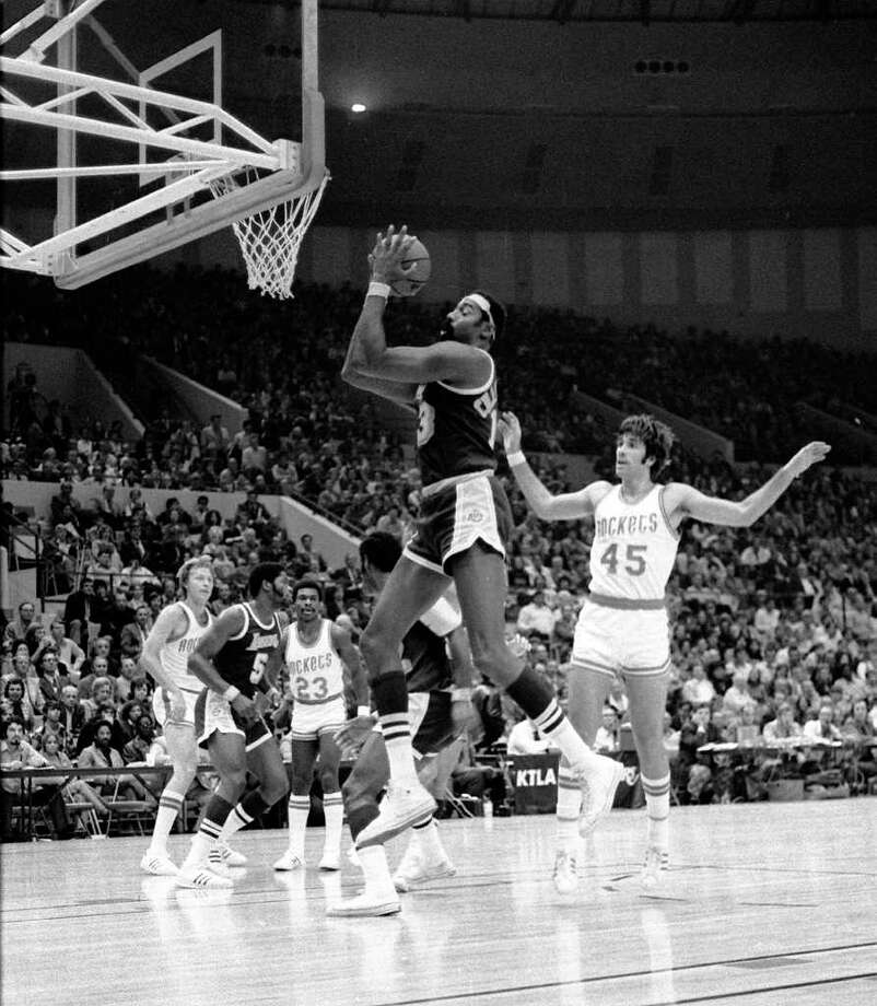 Wilt Chamberlainplayed for 16 seasons from 1959-1973 (for the Philadelphia and San Francisco Warriors, the Philadelphia 76ers and the Los Angeles Lakers) and averaged a double-double in them all. He finished with career averages of 30.1 points and 22.9 rebounds. His best season for scoring and rebounding was 1961-62, when he averaged 50.4 points and 25.7 rebounds. Photo: BYRON SAMFORD, File Photos / SAMFORD FILES SAN ANTONIO LIGHT
