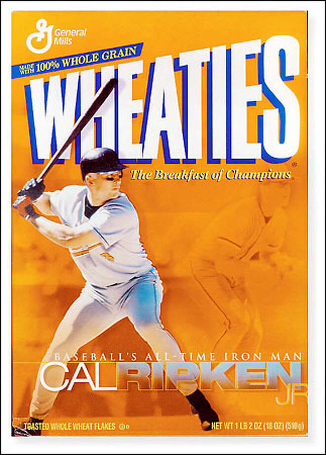 "Thank you, Wheaties, for giving us the ""Breakfast of Champions."" Photo: /"