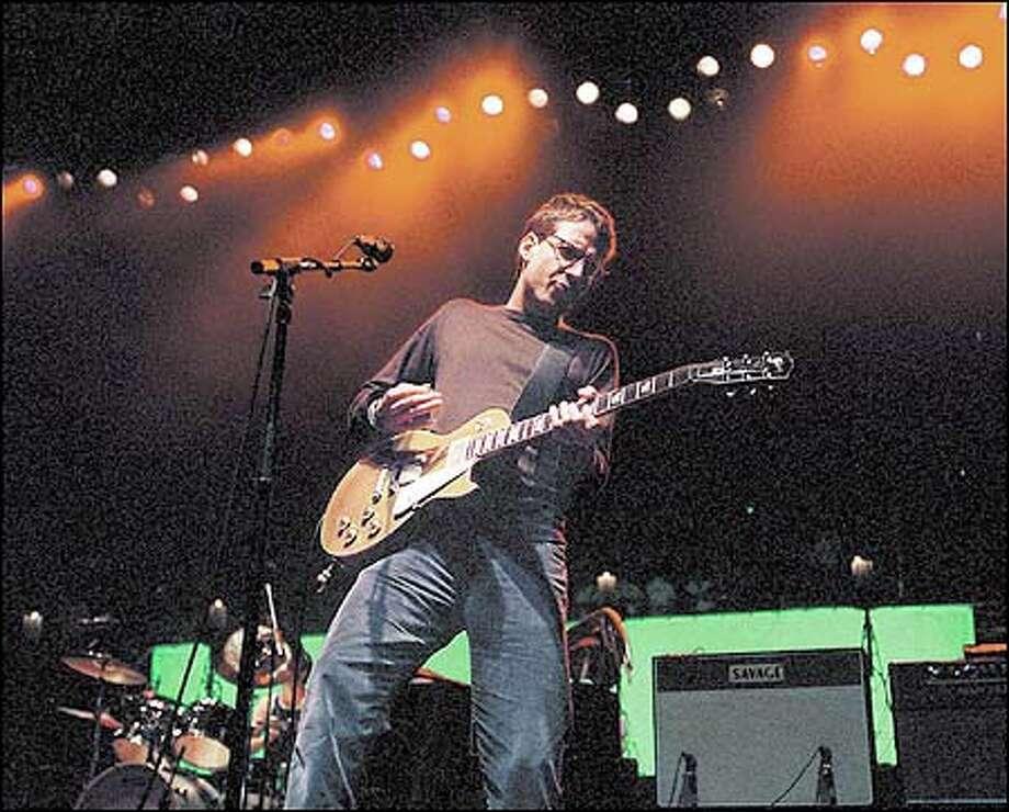 Pearl Jam's Gossard / AP
