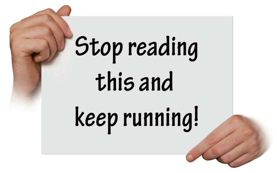 Making a sign to support your runner? Try this.
