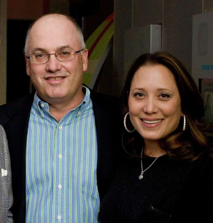 Steven Cohen, age 55, $8 billion, Greenwich, hedge funds. Cohen's wife, Alexandra, is at right. Photo: Jenny Boyle, ST / Peppe Communications