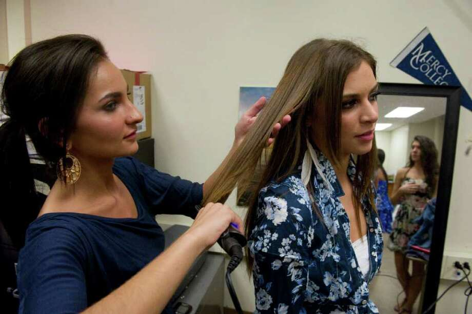 Stamford high 39 s prom fashion show stamfordadvocate for A step ahead salon