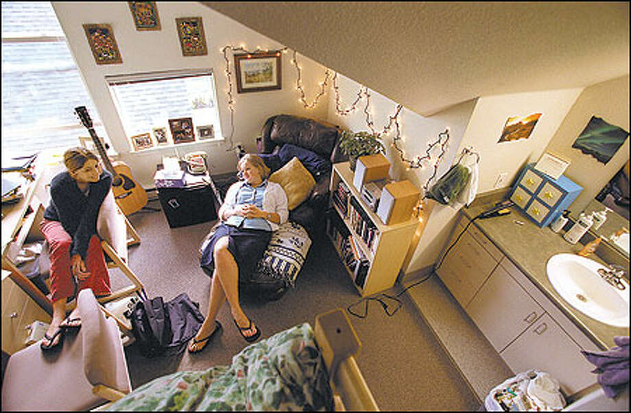 No milk crates or bean bags in these swanky new dorms