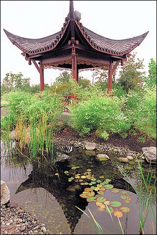 The Seattle Chinese Garden is a great place to go for a little ...