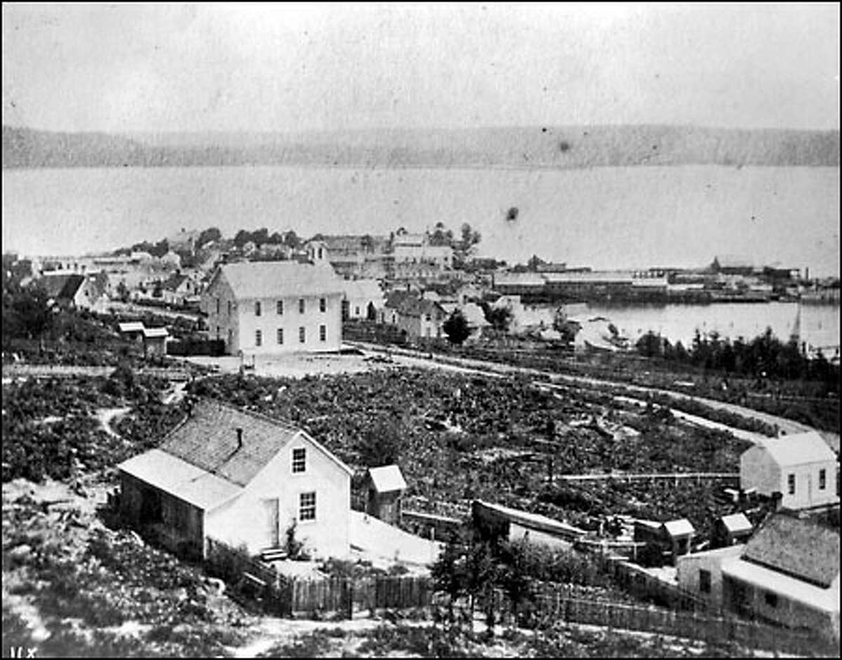 In 1870, Elizabeth Ordway opened Central School, the first structure built by the Seattle School District. It was at Third and Madison.