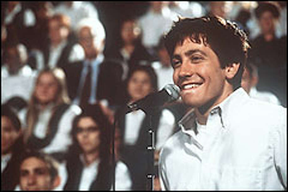 "Jake Gyllenhaal is poignant in ""Donnie Darko,"" a film that peels back the layers of a boy's troubled psyche. Photo: DALE ROBINETTE"
