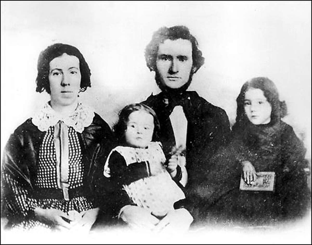 Young David Thomas Denny in 1859, eight years after he came west from Illinois.