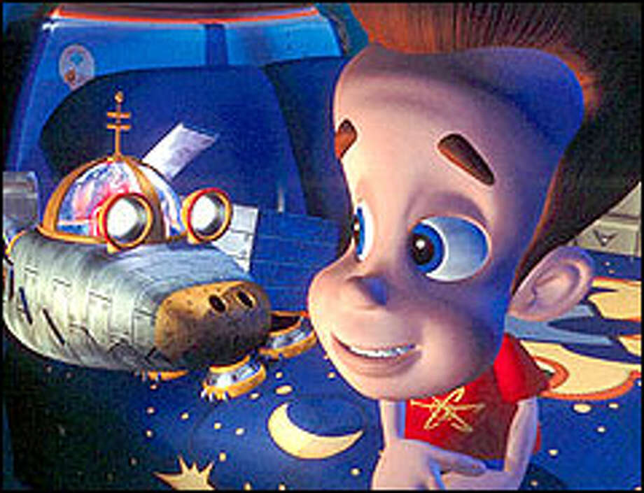 Jimmy Neutron A Smart Bet For Family Fun Seattlepicom