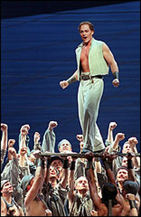 "Christopher Maltmant played the title role in an exemplary production of ""Billy Budd."" Seattle Opera's mounting of the ""Ring"" cycle made it a banner year for the company. Photo: P-I FILE"
