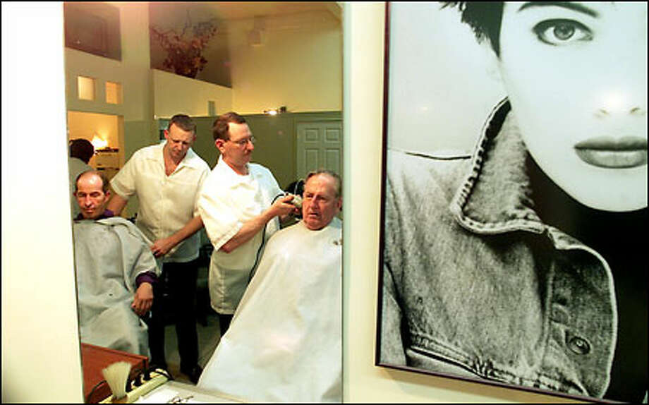 Haircut Please And Two Bellevue Barbers Get A Neighborly Uplift