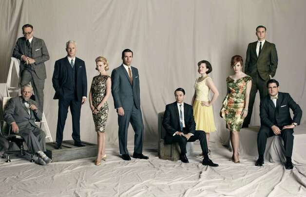 The cast of AMC's Mad Men credit: Frank Ockenfels 3/AMC Photo: Frank Ockenfels / handout