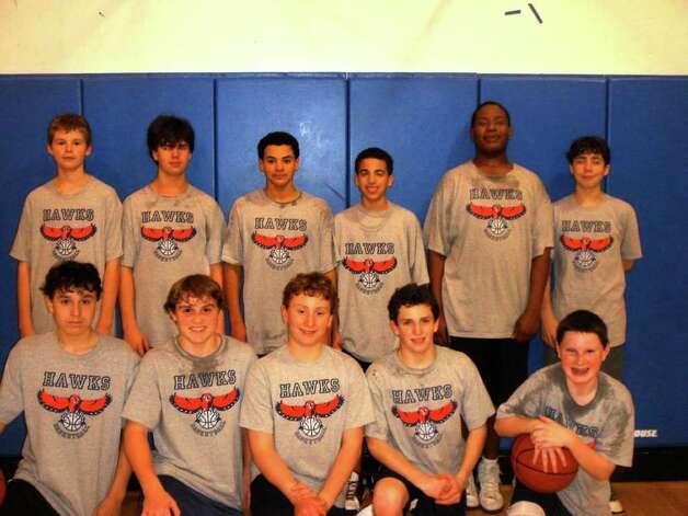The westport ymca eighth grade boys travel basketball team will be