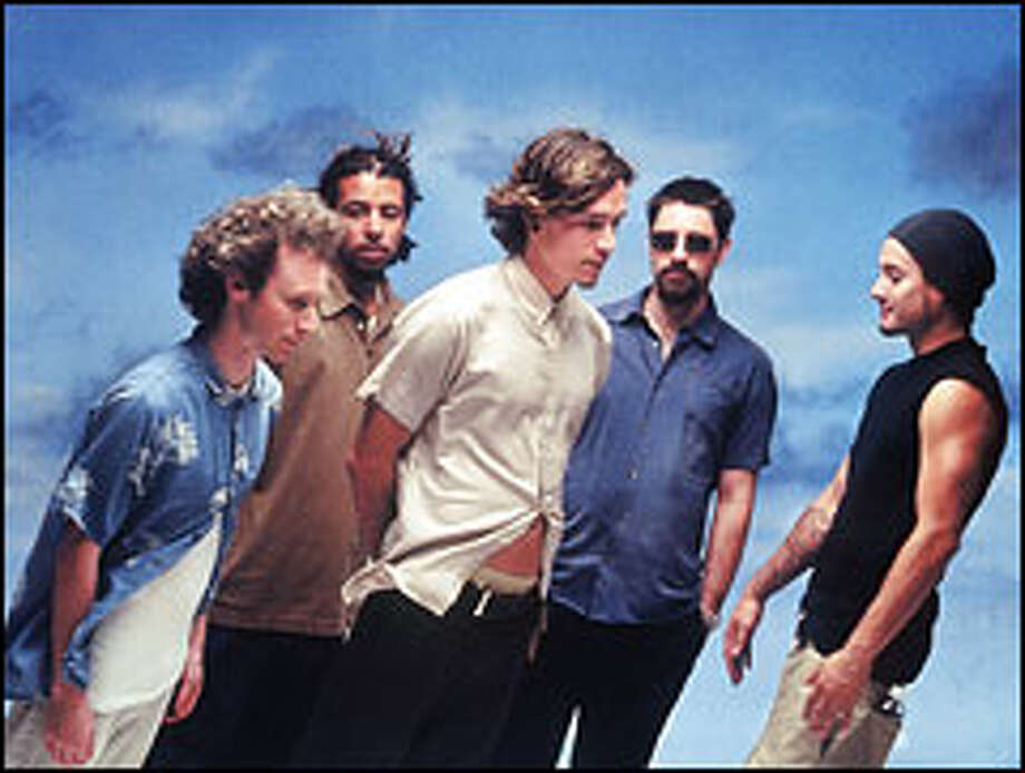 Incubus is, from left, Mike Einziger, Chris Kilmore, Brandon Boyd, Dirk Lance and Jose Pasillas II. The group has come a long way since 1991, when a group of high school friends with a yen for the funk-rock of Primus and the Red Hot Chili Peppers started jamming together. Photo: BRIAN SMITH