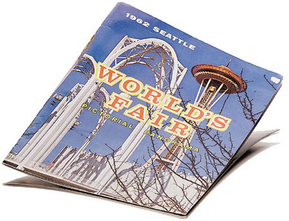 A Century 21 souvenir book. Photo: Joshua Trujillo/Seattle Post-Intelligencer