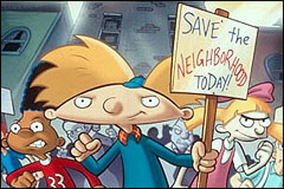 "The football-headed hero of TV-cartoon fame makes the leap into the movies in the uninspired but enjoyable ""Hey Arnold! The Movie."""
