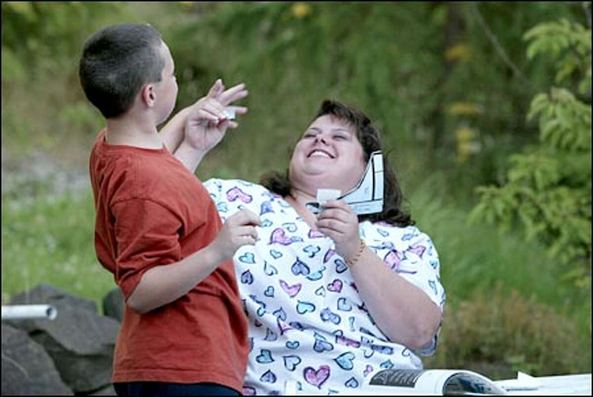 Doctors say their suspicions that Michelle Bateman suffered from Munchausen syndrome by proxy were triggered by Christopher's many trips to the hospital.