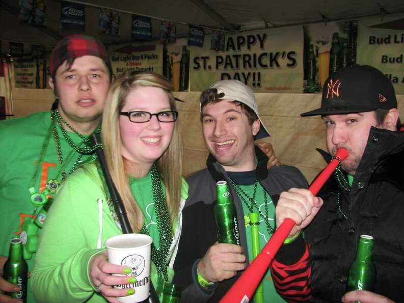 Were you Seen at the pre-parade festivities at McGeary's in Albany on Saturday morning?
