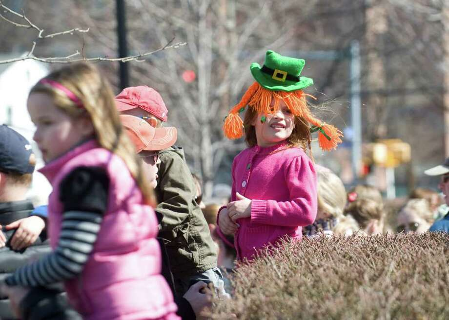 Highlights from Stamford's Anuual St. Patrick's Day parade in Stamford, Conn. on Saturday March 12, 2011. Photo: Kathleen O'Rourke, Stamford Advocate / Stamford Advocate