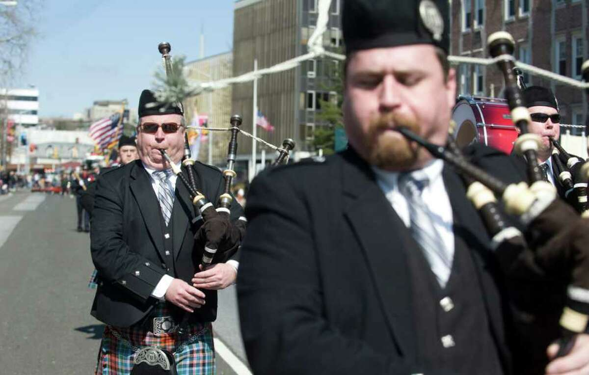 Highlights of the Stamford St. Patrick's Day parade in Stamford, Conn. on Saturday March 12, 2011.