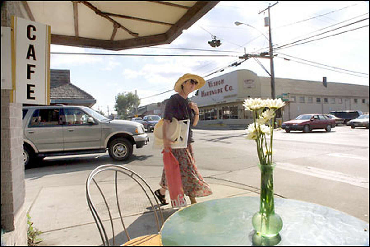"""Business owners on Vashon Island say one of the advantages of the island is its rural atmosphere. """"Things are a little bit easier-going over here,"""" one said."""