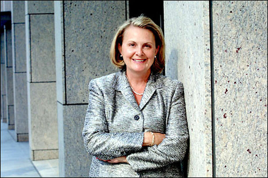 """""""We've got a lot we can do with what we have,"""" CEO Melanie Dressel said. """"If you look at our core banking business, there's a lot to be proud of."""" Photo: Phil H. Webber/Seattle Post-Intelligencer"""