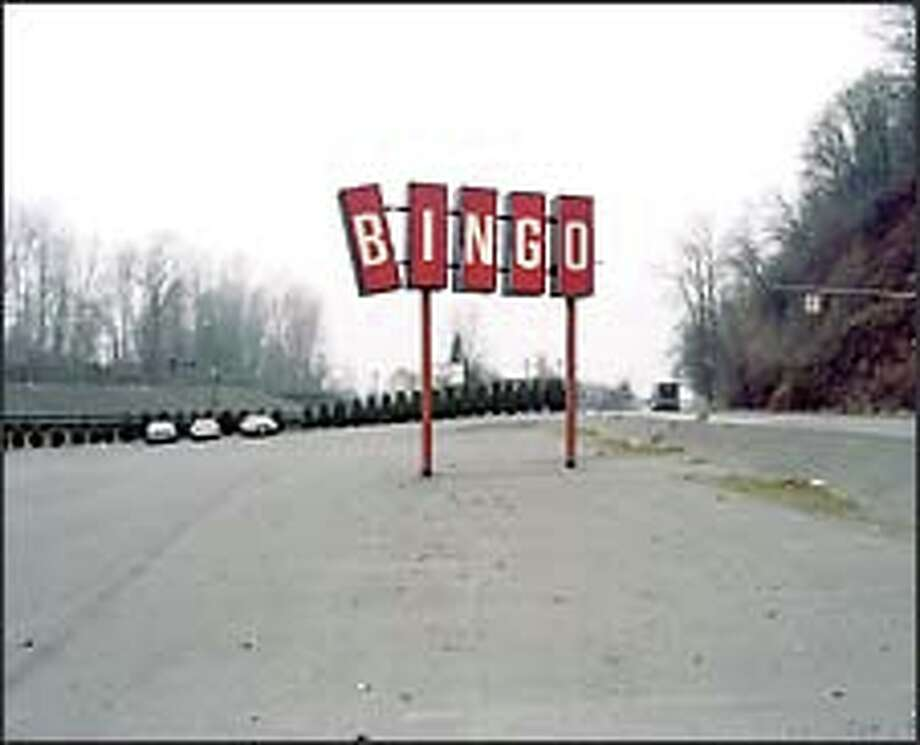 "Andrew Miksys shot the forlorn ""Red Bingo Sign"" at a bingo hall in Renton."