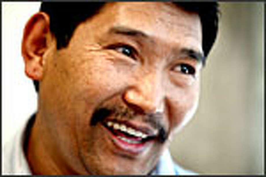 "Nawang Dorjee: ""What I bring to BCC will be my Tibetanness."" Photo: Dan DeLong/P-I"