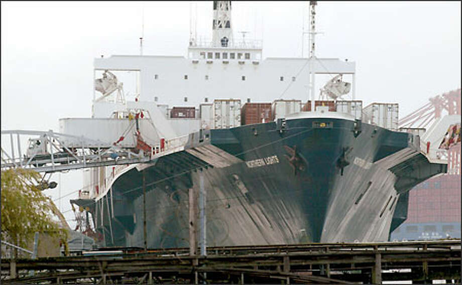 Ports remain shut down, but 'some' progress in talks - seattlepi com