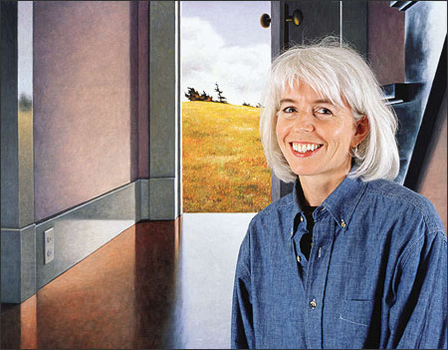 Bellingham artist Susan Bennerstrom Photo: Al Sanders/Special To The Seattle Post-Intelligencer