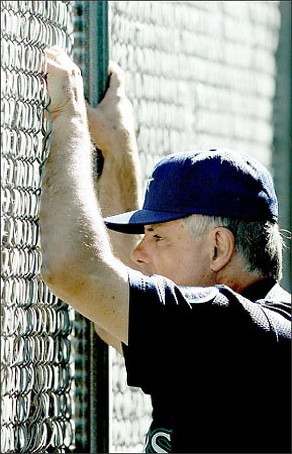Lou Piniella made the Mariners a winner, with 840 victories in his 10 years in Seattle. Photo: / Associated Press