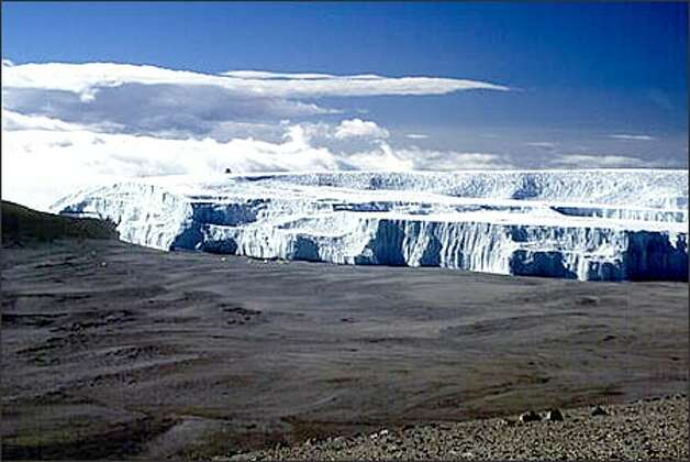 Mount Kilimanjaro has lost 80 percent of its ice fields in the past century. Photo: / Associated Press