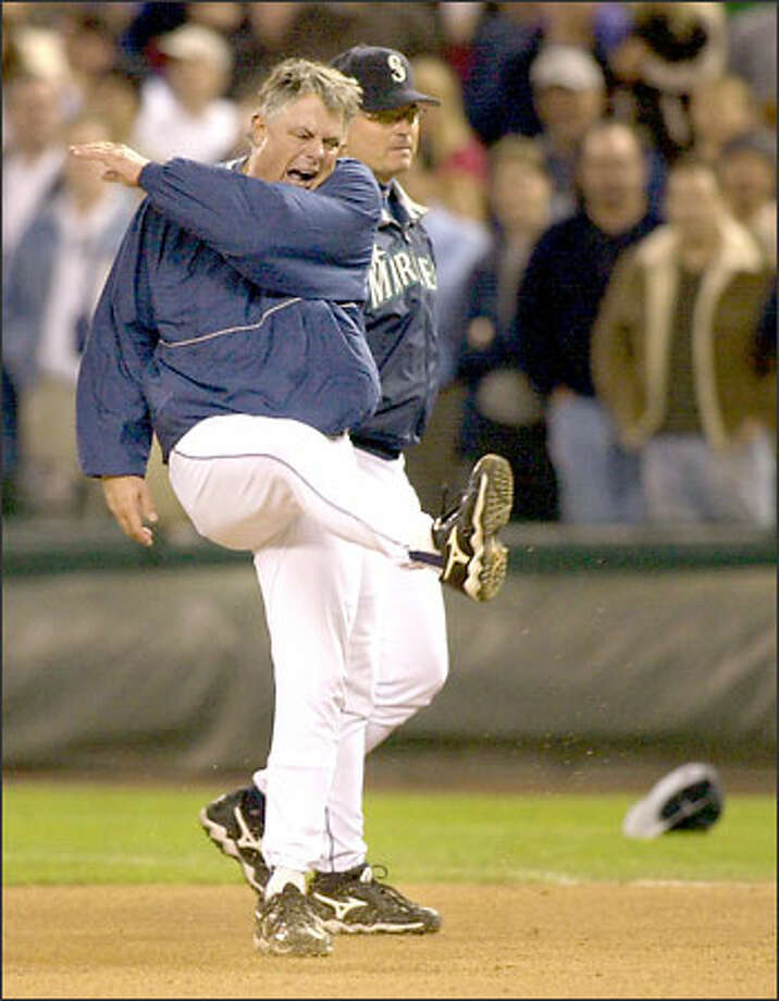 The departure of Lou Piniella -- and subsequent reaction -- is distinctly different from those of Ken Griffey Jr., Alex Rodriguez, and Randy Johnson. Photo: / Associated Press