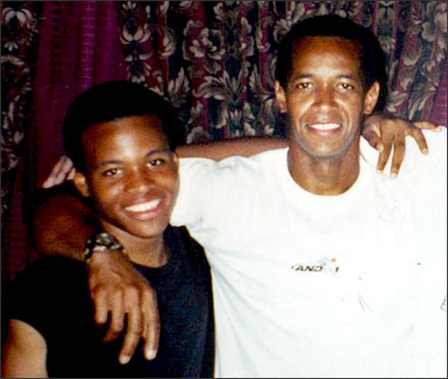 John Lee Malvo, 17, left, and John Allen Muhammad, are seen in this recent family photo in Louisiana, provided by Muhammad's former sister-in-law Sheron Norman, Thursday in Baton Rouge, La. Muhammad, a 41-year-old Army veteran and the teenager described as his stepson were arrested at a roadside rest stop Thursday for questioning in the three-week wave of deadly sniper attacks that have terrorized the Washington, D.C., area. Photo: / Associated Press
