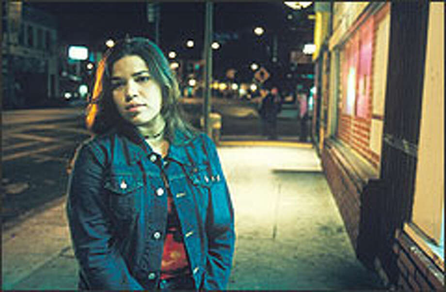 America Ferrera as Ana Garcia, a young Latina who struggles with her family and her future. Photo: NICOLA GOODE