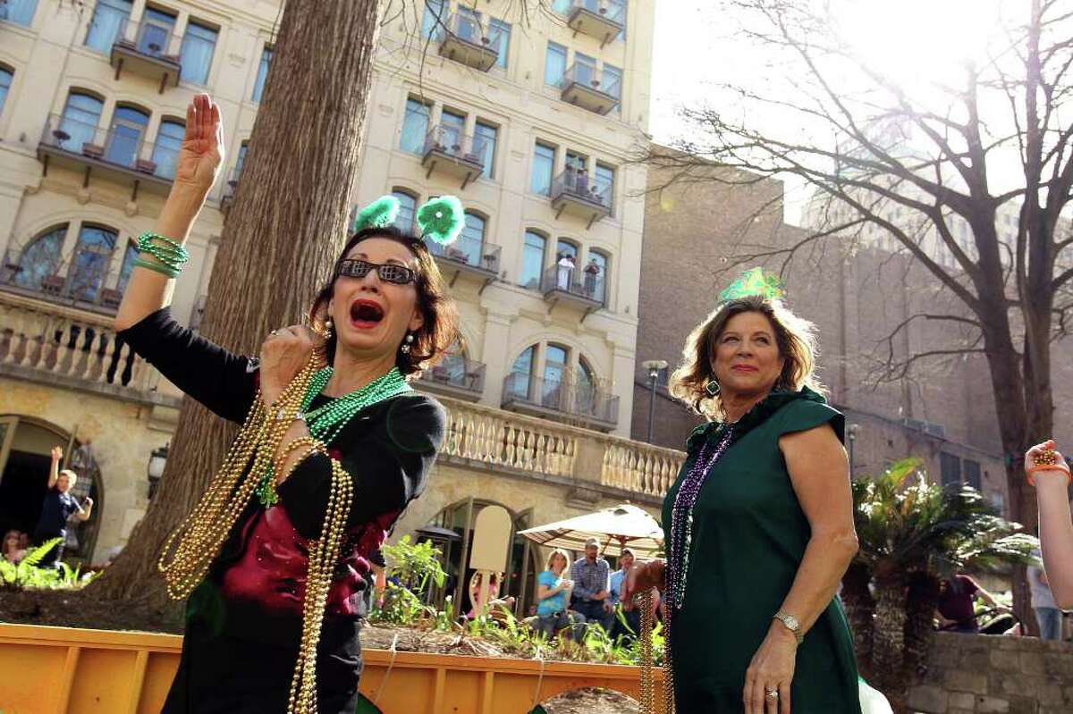 March 16 and 17 - St. Patrick's Day River Parade & Festival parade 3 p.m. Saturday festival noon-6 p.m. Saturday-Sunday La Villita Free