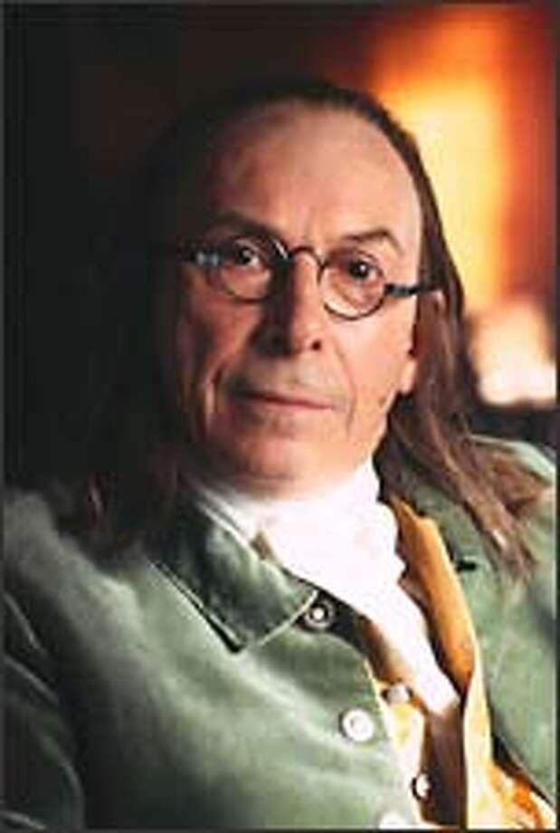 Tony Award winner Richard Easton portrays Benjamin Franklin in the PBS series.